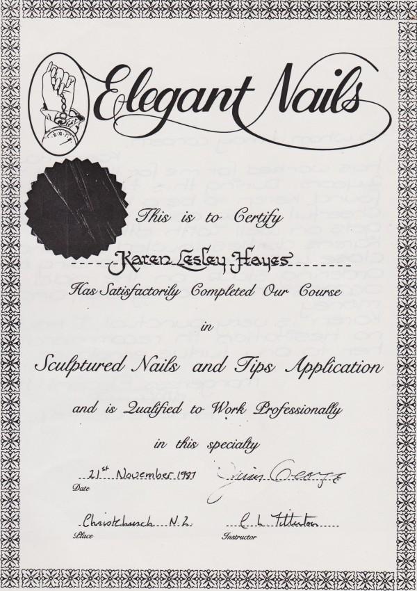 Certified Nail Technician Courses Best Imagebrain Co
