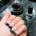Olivias Nail Design – NL Black. OTD top coat