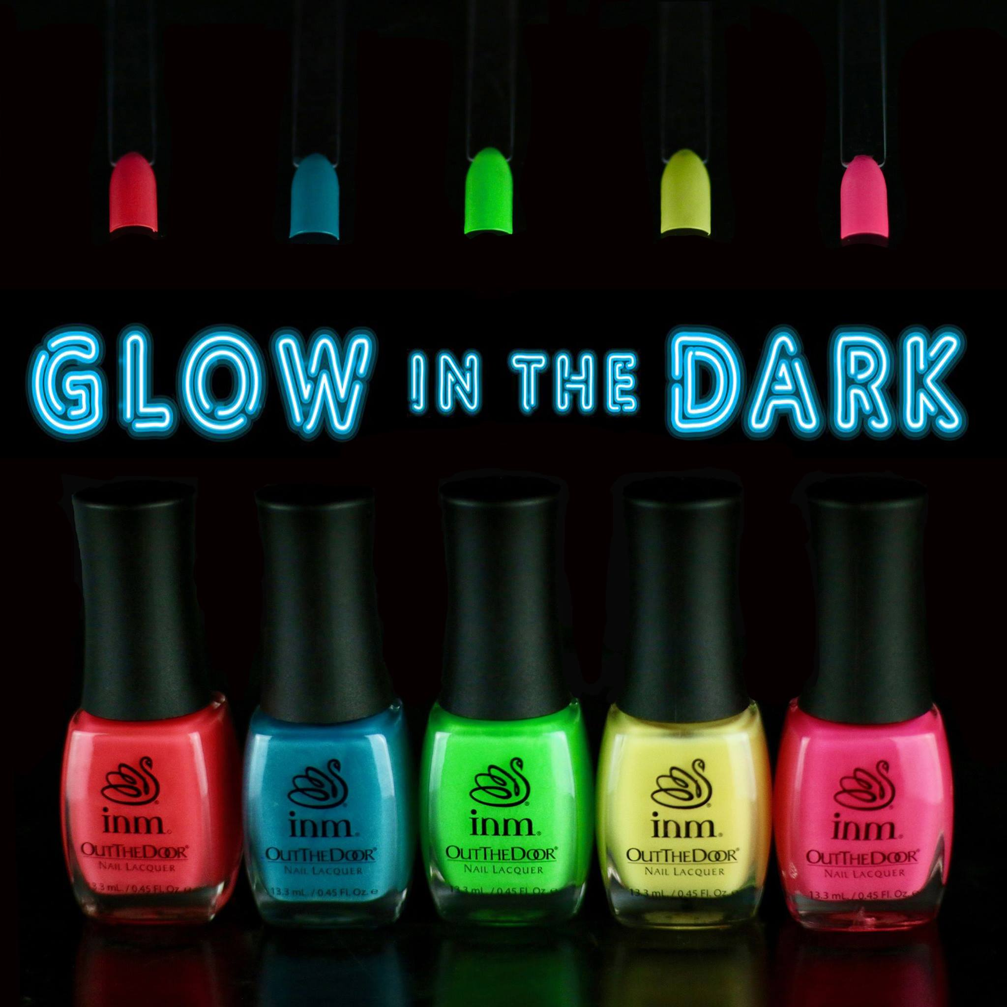 GLOW IN THE DARK LACQUERS