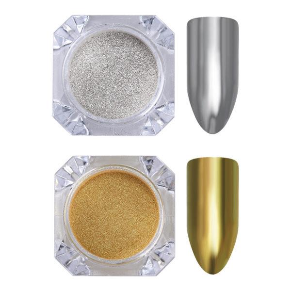 Gold Silver Mirror Pigment 1g