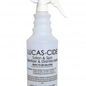 lucas cide spray bottle