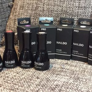 NAILDO GEL POLISH COLOURS
