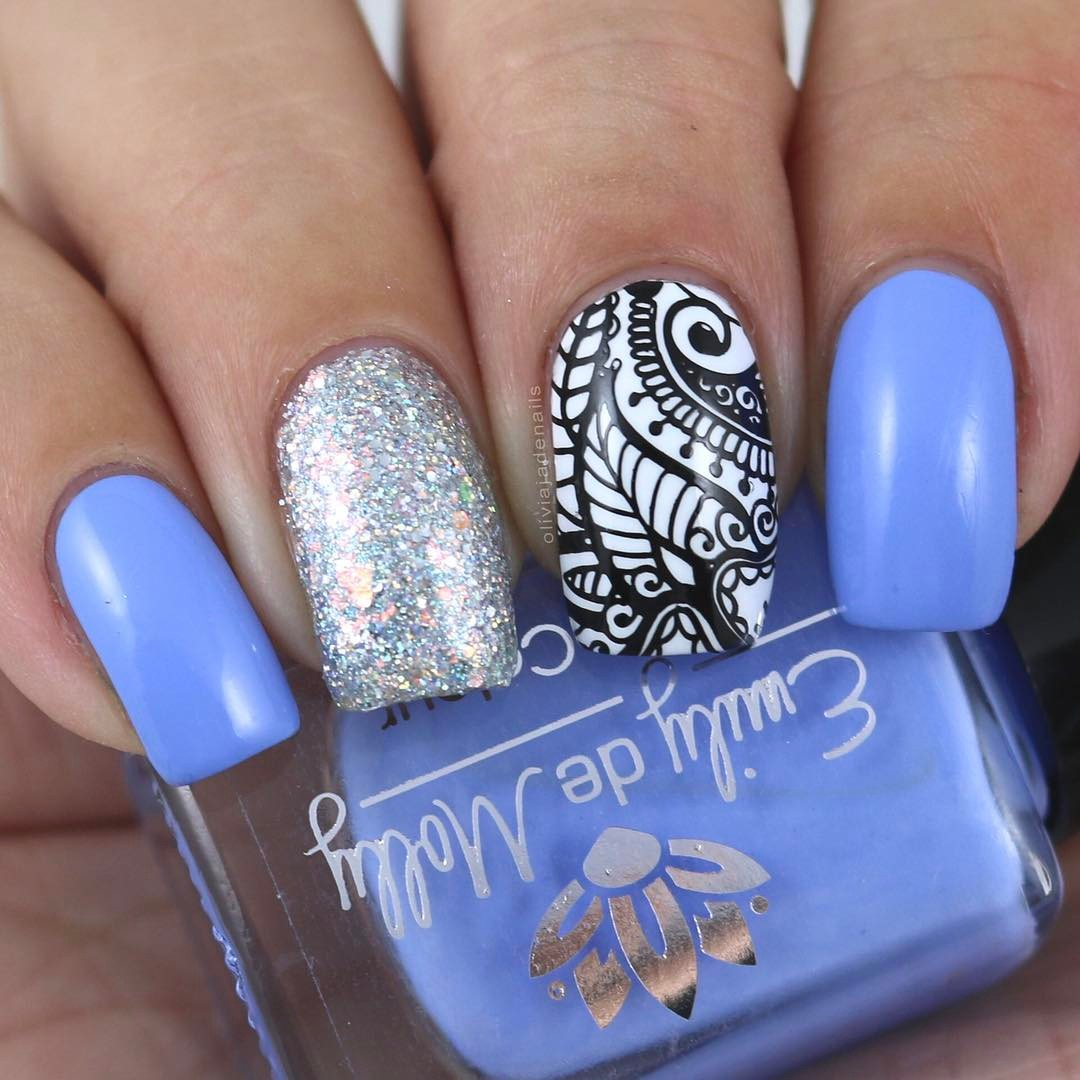 Henna Entrancement Stamping Plate