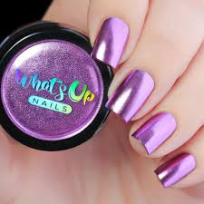 Lilac chrome powder