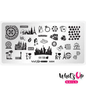 sin city stamping plate