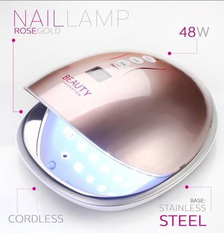 LED Lamp Rose Gold